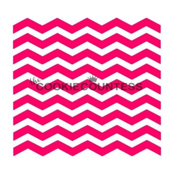 Narrow Chevron by The Cookie Countess: 3 Units @ £4.44 Per Unit