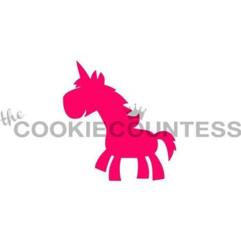 Whimsical Unicorn by The Cookie Countess: 3 Units @ £4.44 Per Unit