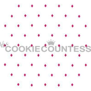 Argyle Diamond Layer by The Cookie Countess: 3 Units @ £4.44 Per Unit