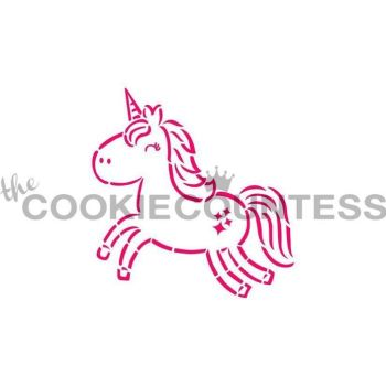 Cutie Unicorn PYO by The Cookie Countess: 3 Units @ £2.22 Per Unit