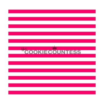 Narrow Stripe by The Cookie Countess: 3 Units @ £4.44 Per Unit