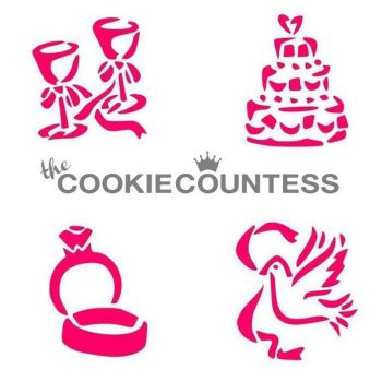 Whimsical Wedding Items by The Cookie Countess: 3 Units @ £4.44 Per Unit