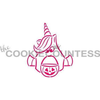 Drawn with Character Ghost Unicorn PYO by The Cookie Countess: 3 Units @ £2.22 Per Unit
