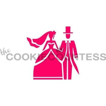 Wedding Couple by The Cookie Countess: 3 Units @ £4.44 Per Unit