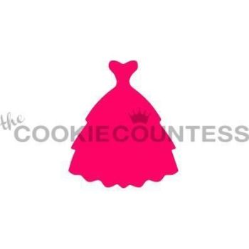Dress Silhouette 1 by The Cookie Countess: 3 Units @ £4.44 Per Unit