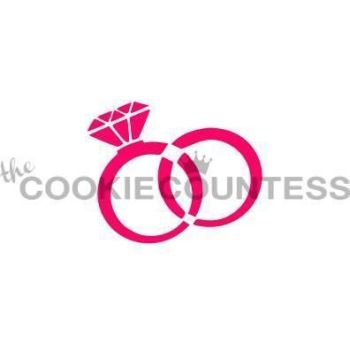 Wedding Rings by The Cookie Countess: 3 Units @ £4.44 Per Unit