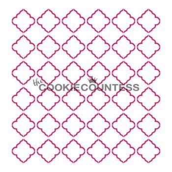 Delicate Quatrefoil by The Cookie Countess: 3 Units @ £4.44 Per Unit