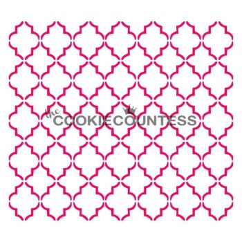 Small Quatrefoil by The Cookie Countess: 3 Units @ £4.44 Per Unit