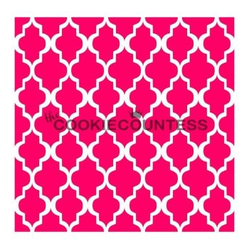 Moroccan Lace by The Cookie Countess: 3 Units @ £4.44 Per Unit