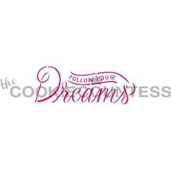 Follow Your Dreams by The Cookie Countess: 3 Units @ £4.44 Per Unit