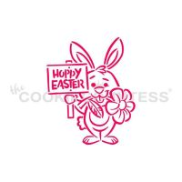 Drawn With Character - Bunny & Sign PYO by The Cookie Countess: 3 Units @ £2.22 Per Unit