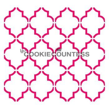 Large Quatrefoil by The Cookie Countess: 3 Units @ £4.44 Per Unit