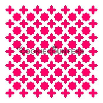 Moroccan Screen by The Cookie Countess: 3 Units @ £4.44 Per Unit