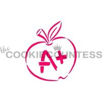 Drawn With Character - A+ Apple by The Cookie Countess: 3 Units @ £4.44 Per Unit
