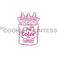 Drawn With Character - Color My World by The Cookie Countess: 3 Units @ £4.44 Per Unit