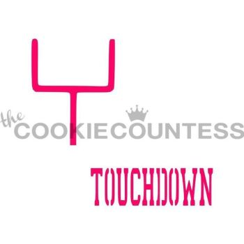 Touchdown by The Cookie Countess: 3 Units @ £4.44 Per Unit