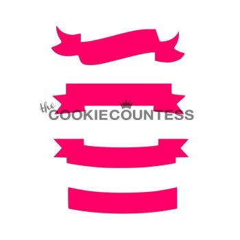 Banners by The Cookie Countess: 3 Units @ £4.44 Per Unit