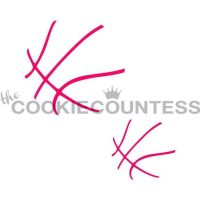 Basketball 2 sizes by The Cookie Countess: 3 Units @ £4.44 Per Unit