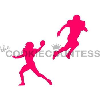 Football players by The Cookie Countess: 3 Units @ £4.44 Per Unit
