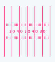 Football Field Lines by The Cookie Countess: 3 Units @ £4.44 Per Unit