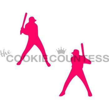 Baseball Players by The Cookie Countess: 3 Units @ £4.44 Per Unit