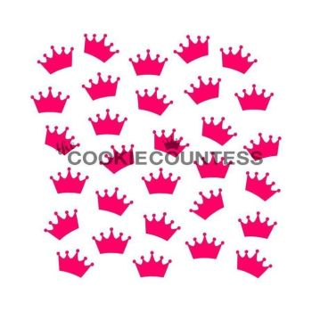 Crowns by The Cookie Countess: 3 Units @ £4.44 Per Unit