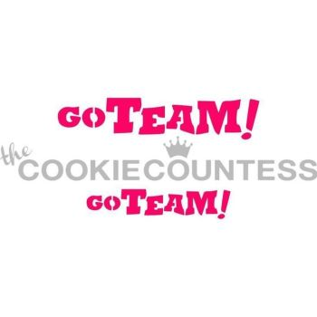 Go Team! by The Cookie Countess: 3 Units @ £4.44 Per Unit