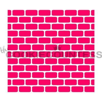 Brick Wall by The Cookie Countess: 3 Units @ £4.44 Per Unit