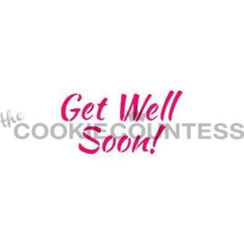 Get Well Soon! by The Cookie Countess: 3 Units @ £4.44 Per Unit