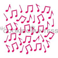 Music Notes by The Cookie Countess: 3 Units @ £4.44 Per Unit