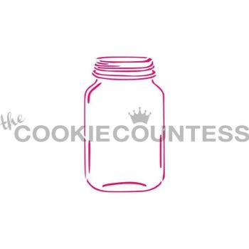 Mason Jar by The Cookie Countess: 3 Units @ £4.44 Per Unit