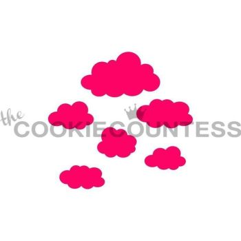 Clouds by The Cookie Countess: 3 Units @ £4.44 Per Unit