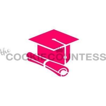 Cap and Diploma by The Cookie Countess: 3 Units @ £4.44 Per Unit