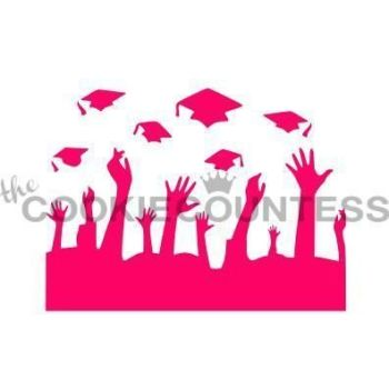 Throwing Grad Caps by The Cookie Countess: 3 Units @ £4.44 Per Unit