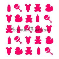 Baby items by The Cookie Countess: 3 Units @ £4.44 Per Unit