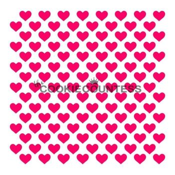 Tiny Hearts by The Cookie Countess: 3 Units @ £4.44 Per Unit