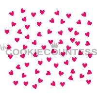 Scattered Hearts by The Cookie Countess: 3 Units @ £4.44 Per Unit