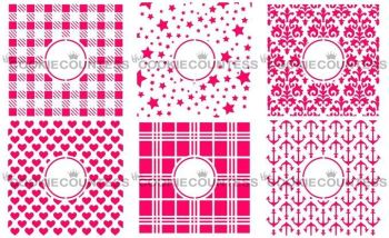 New Monogram Bundle Set by The Cookie Countess