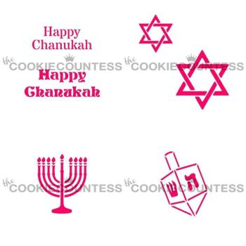 Cookie Countess - Chanukah Bundle by The Cookie Countess