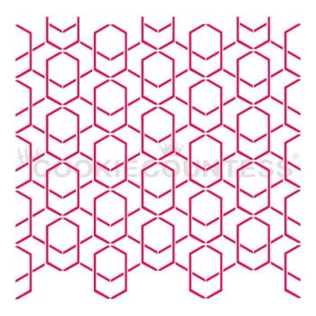 Modern Lattice by The Cookie Countess: 3 Units at £2.22 per unit.