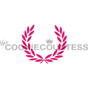 Laurel Wreath by The Cookie Countess: 3 Units @ £4.44 Per Unit