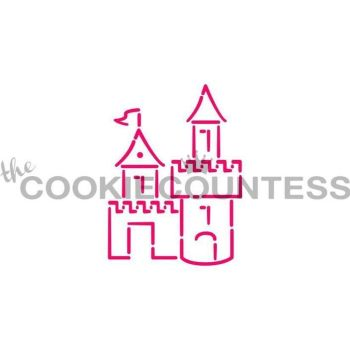Castle 1 by The Cookie Countess: 3 Units @ £4.44 Per Unit