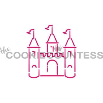 Castle 2 by The Cookie Countess: 3 Units @ £4.44 Per Unit
