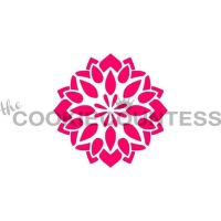 Floral Medallion by The Cookie Countess: 3 Units @ £4.44 Per Unit