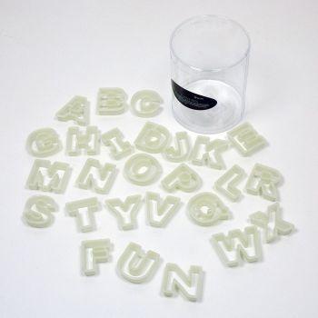 Fat Daddios Nylon Cutter Set, Alphabet