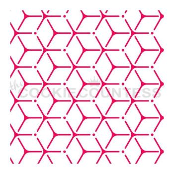 Geometric Hexagons by The Cookie Countess: 3 Units at £2.22 per unit.