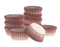 Ateco Burgundy Stripe Petit Four. 12 units at £2.49 per unit.