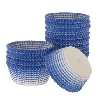 Ateco Blue Stripe Muffin Cups. 12 units at  £5.24 per unit.