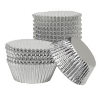 Ateco Silver Paper-Lined Foil Baking Cups. 12 units at  £7.33  per unit.