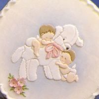 Patchwork Cutters Lamb and Babies
